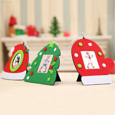 8792E93 Christmas Photo Frame Hanging String Decoration Ornament Xmas Tree Decor
