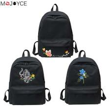 Casual Embroidery Backpacks Teenager Girls Travel Bags School Rucksacks Female