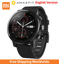 English Version Xiaomi Huami Amazfit Smart Watch Stratos 2 GPS PPG Heart Rate HQ