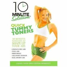 10 Minute Solution: Quick Tummy Toners Jessica Smith DVD