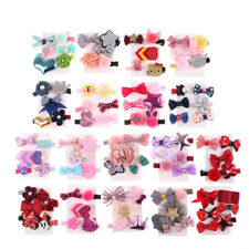 1 Set Hairpin Baby Girl Hair Clip Bow Flower Mini Barrettes Star Kids Infant US