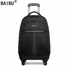 Oxford Rolling Wheel Luggage Bag Suitcases Business Trolley Spinner Travel Bags