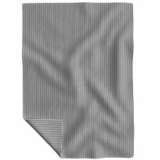 Throw Blanket Stripes Black And White Striped Stripe Lines 48 x 70in