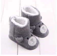 Kids Baby Shoes Slippers Girl Boy Toddler Soft Sole Infant Crib Boots New US
