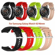 Silicone Wrist Bands Straps for Samsung Galaxy Watch 42mm SM-R810/815/800 46mm