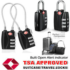 TSA Combination Approved 3 Dial Luggage Suitcase Security Padlock Travel Lock