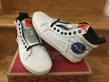 NASA x Vans SK8-Hi 46 MTE DX Voyager True White Marshmallow VN0A3DO5UO4 Sz 8-13