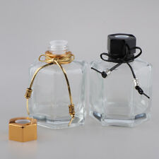2Pcs 100ml Fragrance Glass Diffuser Bottles For DIY Reed Oils Aromatherapy