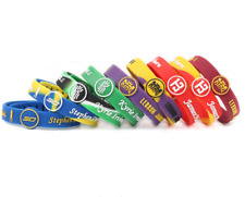 Basketball Star Bracelet - Sports Silicone Rubber Wristband Strap Adjustable