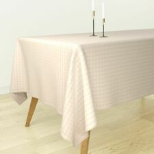 Tablecloth Geometric Ombre Pink Line Holli Zollinger Arrow Boho Cotton Sateen