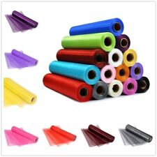 29CM X 26M Organza Roll Sashes Fabric Table Runner Chair Sash Bow for Decoration