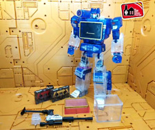 Transformers Masterpiece MP-13 Soundwave Destron Communication Crystal Figure KO