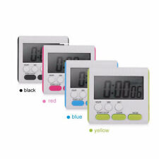 Magnetic LCD Digital Large Kitchen Cooking Timer Count-Down Up Clock Loud Alarm