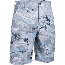 Mens Under Armour Fish Hunter Cargo Shorts OFFSHORE ARMOUR 1244207-926 NEW