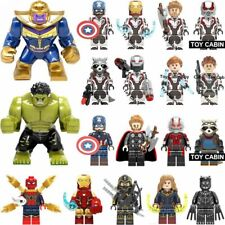 Lego Avengers Endgame Minifigure Iron Man Thanos Thor War Machine Spider Figures