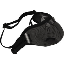 RZ M2.5 DUAL STRAP MESH MASK WITH 2 ACTIVE CARBON FILTER and STORAGE BAG Black