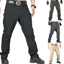 Tactical Pants Men Hiking Combat Quick Dry Lightweight Cargo Hiking Outdoor GEMS