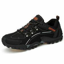 Men's Casual Sneaker Trail Running Hiking Comfort Climbing Black Athletic Shoes