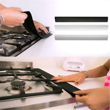 """5cm Silicone Kitchen Stove Counter Gap Cover Oven Guard Spill Seal Filler 21"""""""