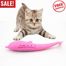 New Cat Self-Cleaning Toothbrush With Catnip Inside-Purrfect Teeth FREE SHIPPING