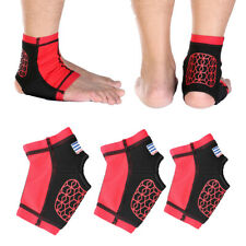 Sports Ankle Foot Elastic Compression Sleeve Wrap Brace Support Protector