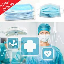 50pc Disposable Medical Dental Industry Dust Proof Face Mask Respirator Virus