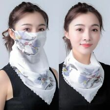Mouth Mask Lightweight Face Mask Scarf Sun Protection Mask Outdoor Riding Masks