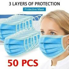500/100/50/20/10/1 PCS 3-layer protective anti-spit mask *SHIPS TO USA & CANADA!