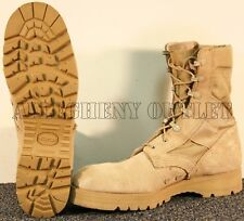 Mens US ARMY LEATHER  LUG SOLE JUNGLE COMBAT BOOTS NEW