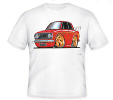 KOOLART TSHIRT - LOTUS CORTINA MK I I - 6 SIZES - RED