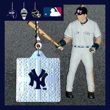 MLB NEW YORK YANKEES FIGURE & BATTING HELMET OR LOGO BASE CEILING FAN PULLS