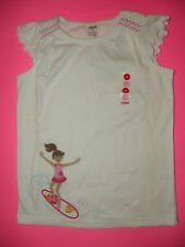 GYMBOREE FLORAL REEF SURFER GIRL TEE S/S TEE TOP 5 6 10 12 NWT