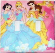 Disney Princesses Light Switch Plates Electrical Outlet