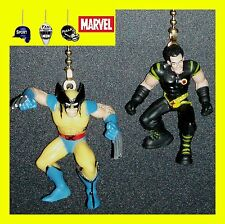 MARVEL HEROES CHARACTER CEILING FAN PULLS- WOLVERINE, GRAY, MAGNETO, MYSTIQUE