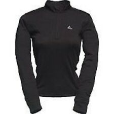 Women's Dare2b Thermal Zip Neck Black Base Layer Top.