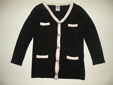 GYMBOREE TRES FABULOUS BLACK BOYFRIEND L/S SWEATER 3 4 5 6 7 8 10 12 NWT