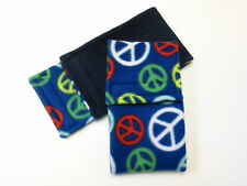 *Premium*Male Dog BELLY BANDS- PEACE *ALL SIZES*-PADDED