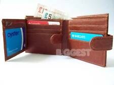 ★New Vegan PU Gents/Mens Wallet in 3 Colours Trifold
