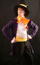 STEAMPUNK/Victorian WILLIE WONKA Coat & hat all sizes