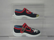 BOYS START-RITE SPACEMAN AND ROCKET SHOES NAVY BLUE
