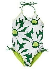 GYMBOREE DAISY DELIGHTFUL DAISY REVERSIBLE 1-PC SWIMSUIT 4 5 6 7 8 9 10 NWT