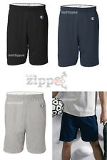 "Champion Mens Cotton Gym Shorts 6"" Inseam 8187 S-3XL Basketball Workout"