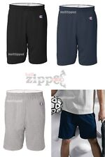 "Champion Mens Cotton Gym Shorts 6"" Inseam 8187 S-3XL Basketball Workout 3 Colors"