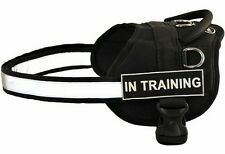 In Training Dog Harness with Velcro Patches for Working