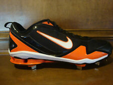New! Mens NIKE SHOX FUSE 2 Metal Baseball Cleats Black