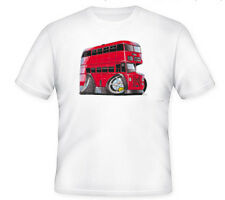 KOOLART TSHIRT - ROUTEMASTER BUS - RED - KIDS TO XXXL