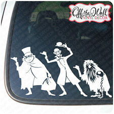 Disney Hitchhiking Ghost Vinyl Car Decal Sticker
