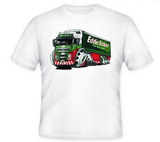 KOOLART TSHIRT - EDDIE STOBART LORRY - KIDS TO XXXL