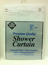 NEW!! Premium Quality Vinyl Shower Curtain  ***FREE SHIPPING***