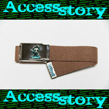 Ceinture BLIND Belt Buckle Natural boucle army taille réglable skater rider